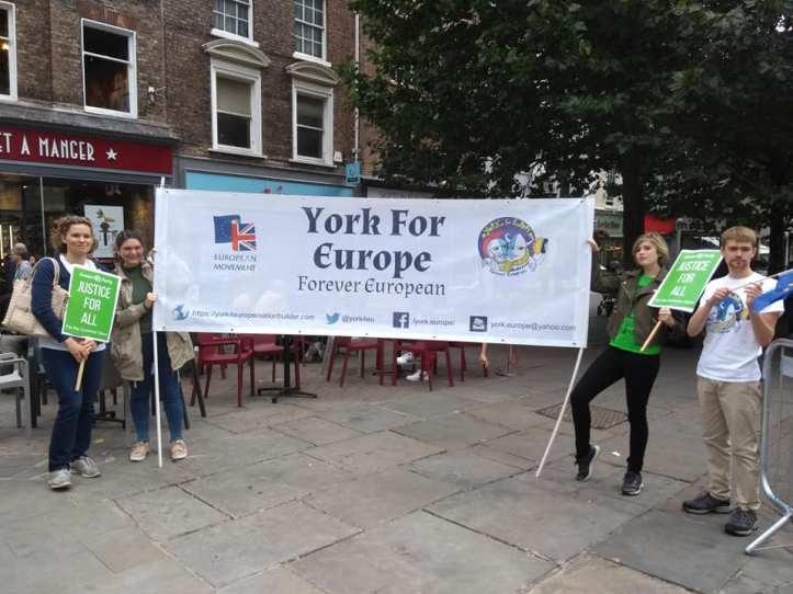 york for europe