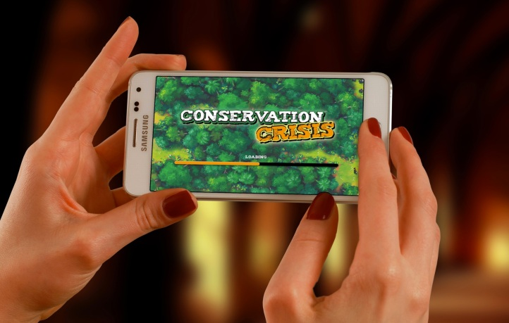 Conservation Crisis Phone Load Screen Screenshot
