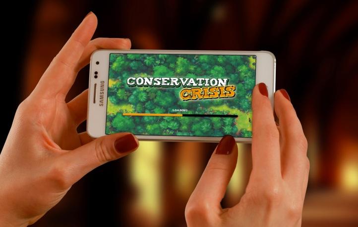 Conservation Crisis Phone Load Screen Screenshot